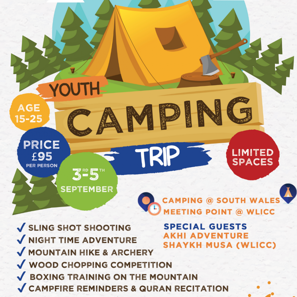 WLICC YOUTH CAMPING TRIP 2021